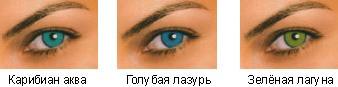 Цветные контактные линзы FreshLook Dimensions Plano
