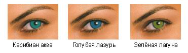Цветные контактные линзы ежемесячные FreshLook Dimensions Plano, производитель CIBA Vision (США)