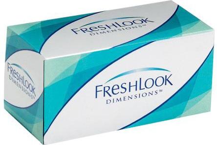 Цветные контактные линзы FreshLook Dimensions Plano (2 шт)